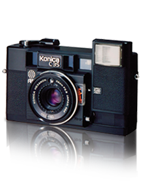 world's first 35mm compact autofocus camera model C35AF